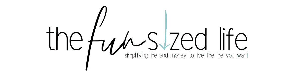 the fun sized life blog. A minimalist blog and financial blog designed to help you live the life you want.