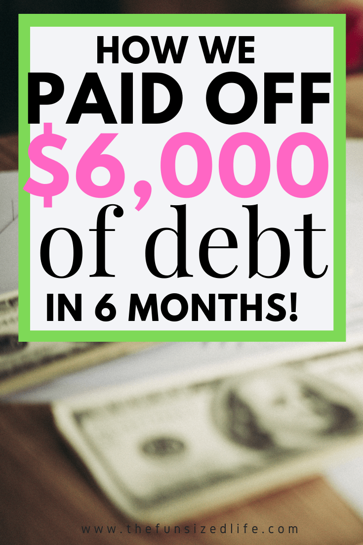 The Debt Snowball helped us pay off debt in 6 months. If you need to get out of debt, try the Debt Snowball and use my free printout to get you started.